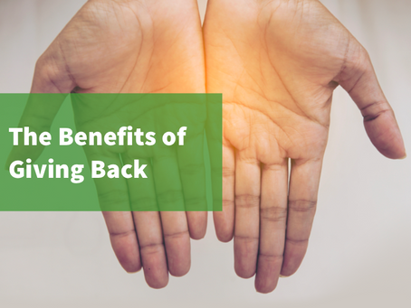The Benefits of Giving Back