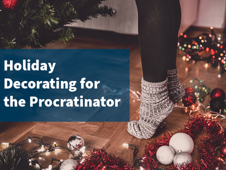 8 Holiday Decorating Tips for the Procrastinator