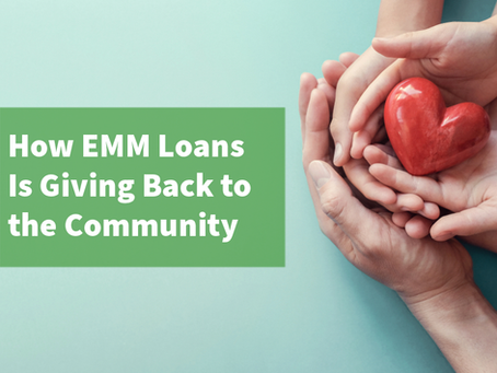 Assessing What Is Really Important: How EMM Loans Is Giving Back