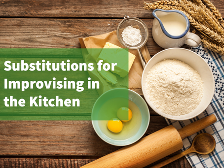 20 Baking Substitutions to Know When Improvising in the Kitchen
