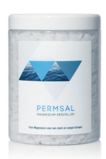 Permsal Magnesium kristallen 750 gram