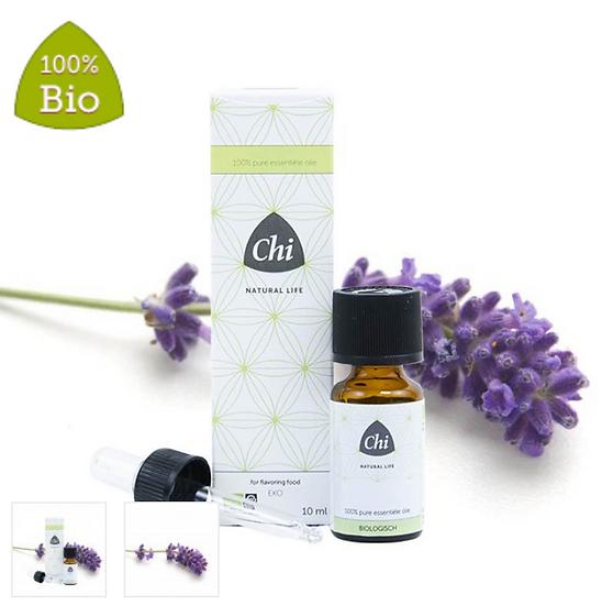Chi  Biologische lavendelolie, Bulgarije 10ML