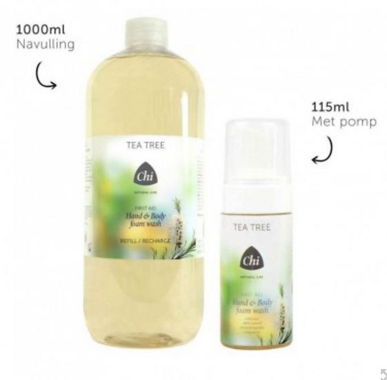 Chi Tea Tree Hand&Body foam wash 1000 ML