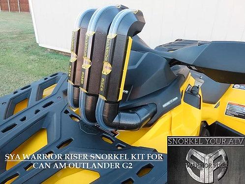 SYA - Can-Am Warrior Riser Snorkel Kit