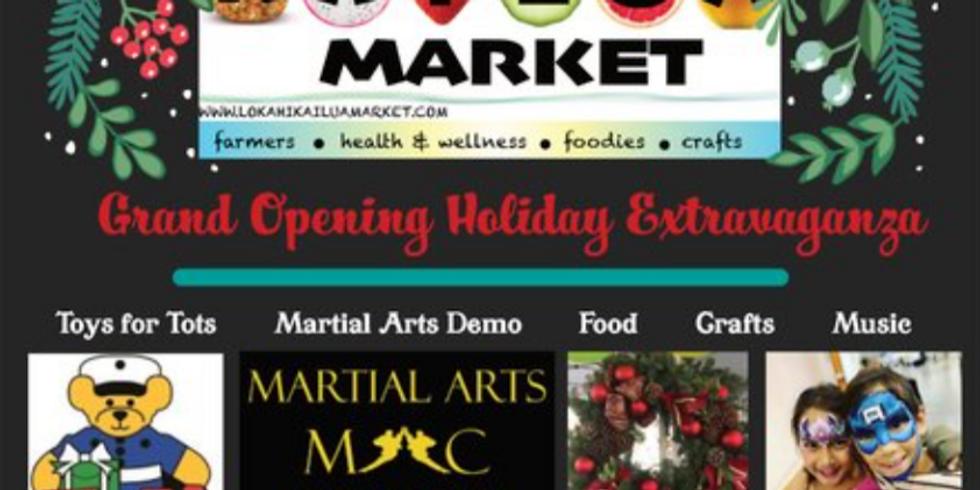 Lōkahi Kailua Market Grand Opening Holiday Extravaganza!!