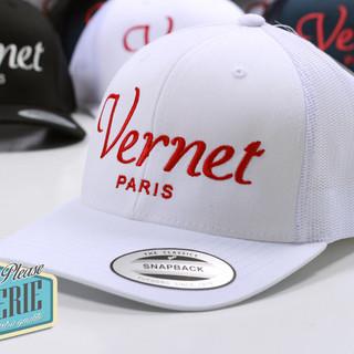 Casquette-trucker-brodée-Logo-Vernet-Par