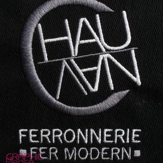 Broderie-sur-polo-logo-ChauVan-Fer-Moder