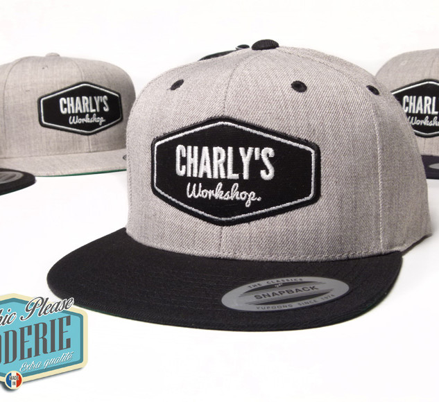 Snapback-brodee-ecusson-Charly-s-Worksho