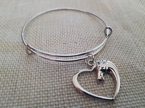 Silver Plate Expandable Bracelet