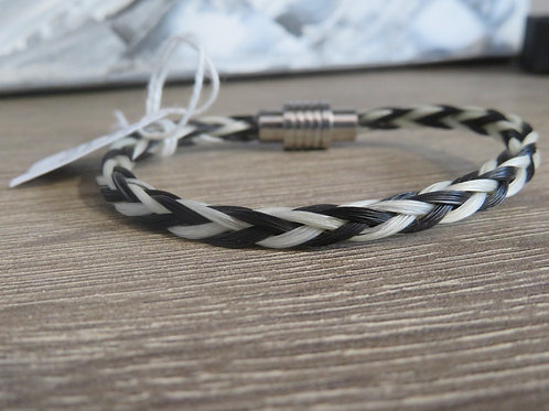 805SS2T 8 Braid Magnetic Bracelet