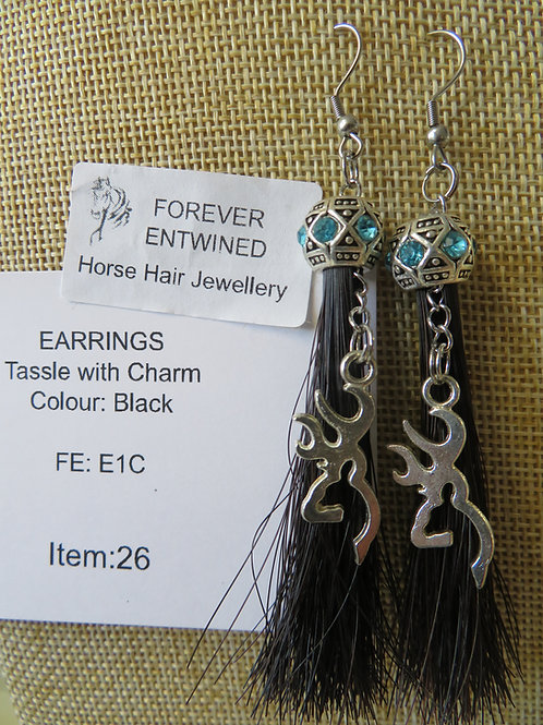 Earrings with Charm
