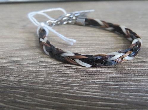 802SS2T Braid Bracelet 2 tone