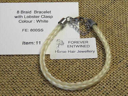 8Braid Bracelet with Lobster Clasp