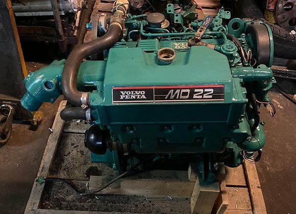 Volvo Penta MD-22 58.4 2HP BobTail Marine Diesel Engine