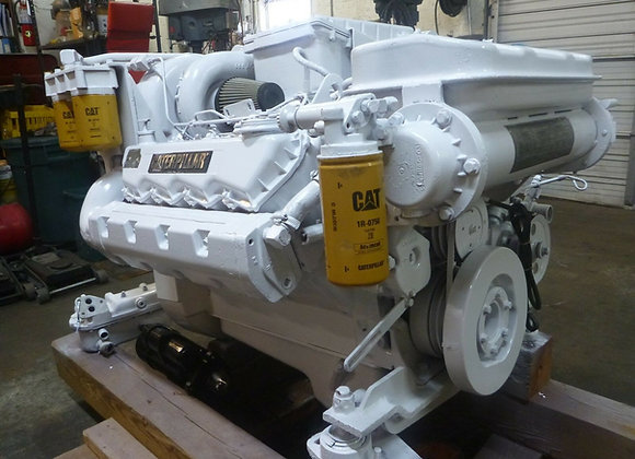 CAT 3208TA Marine Diesel engine rated 435 HP Recon