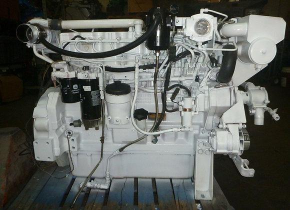 John Deere 6081 Marine Diesel engine rated 375 HP@2600 RPM