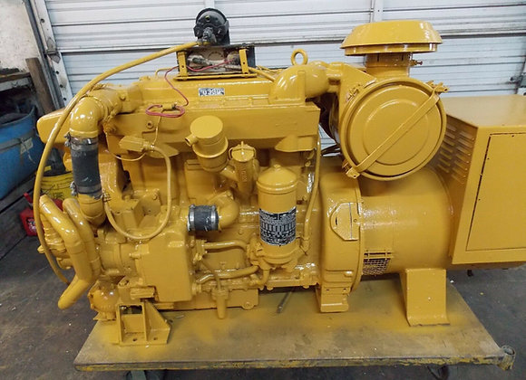 "Caterpillar Generator D330 ""CAT"" Marine Diesel engine rated 100kw"