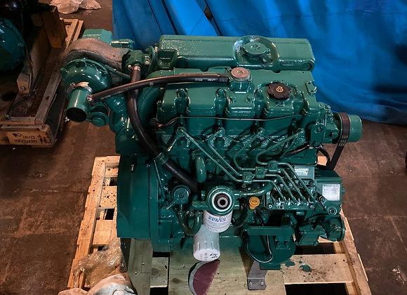 Volvo Penta D2-75C 75HP 4 Cylinder BobTail Marine Diesel Engine