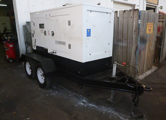 2006 Magnum 68kW Industrial Trailer-Mounted Generator Model MMG80