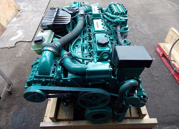 Volvo Penta KAMD-42B Marine Diesel Engine and Transmission