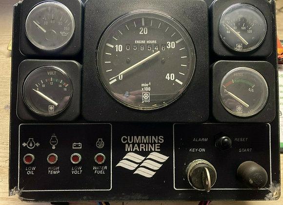 Cummins Marine Gauge Intruments Panel