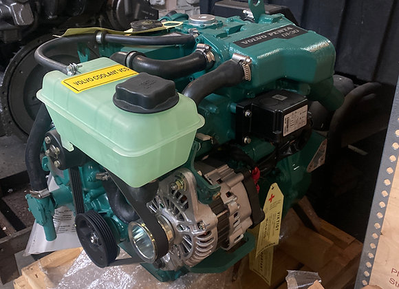 (NEW) Volvo Penta D1-30F 30HP Marine Diesel Engine