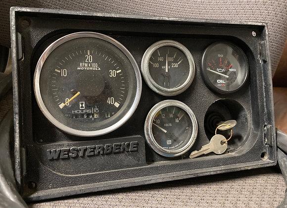 Westerbeke Marine Diesel Engine Instruments Gauge Panel Marine-Key