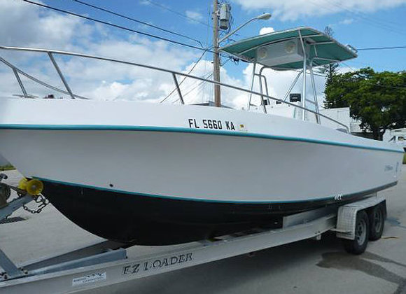 1997 Off-Shore by Contender Boats 26'