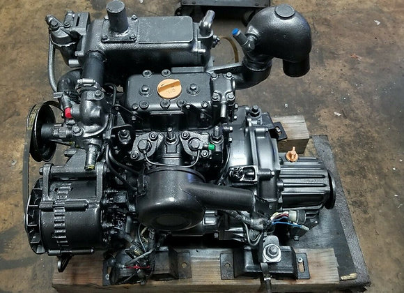Yanmar 2GM20F Diesel Engine 16 HP with Kanzaki 2.62:1 transmission