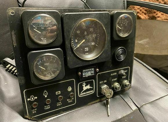 John Deere Marine Diesel Instruments Gauge Panel