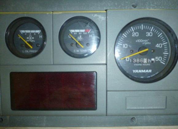 Yanmar OEM Gauge Panel Control YM-0233-013