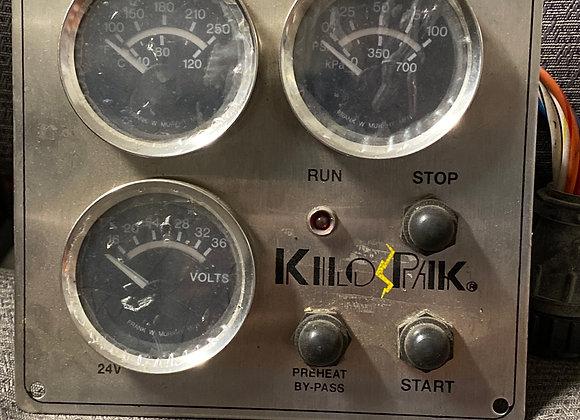 KiloPak  Voltmeter Gauge Panel 24V
