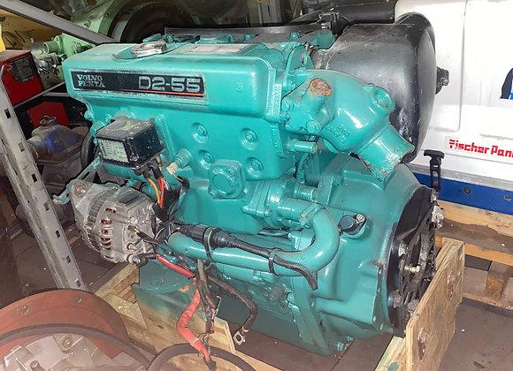 Volvo Penta D2-55 55HP Marine Diesel engine