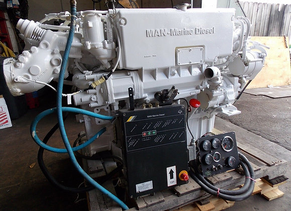 MAN D0836-LE401 Marine Diesel engine rated 450 HP
