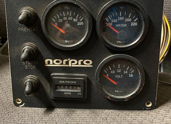 Nor Pro Analog 200 Triple Gauge Panel Pre Heater