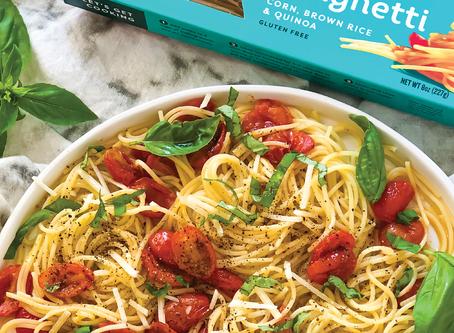 Spaghetti with Light Cherry Tomato Sauce