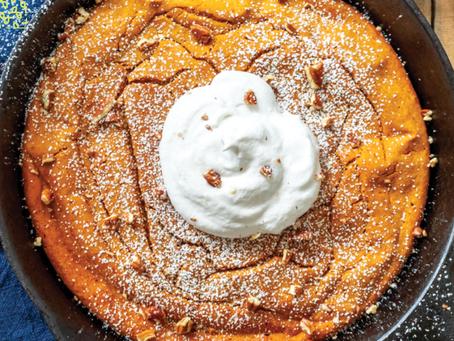 Baked Pumpkin Pancake