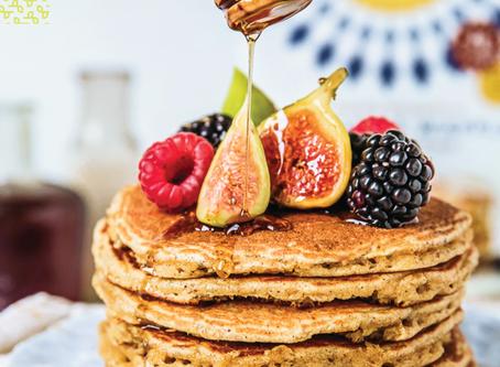 Maple Superfood Pancakes