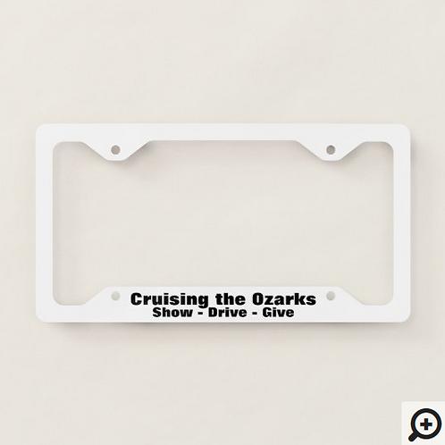 CTO License Plate Frame