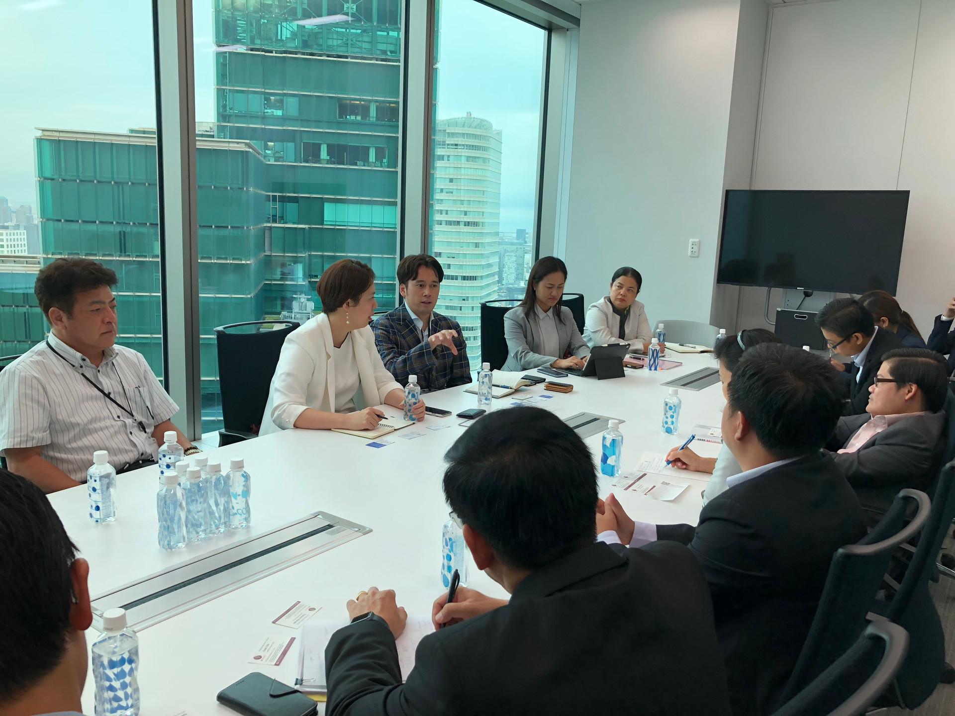 日本外访 - 与币宝团队会晤