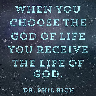 Dr Phil Rich Quote