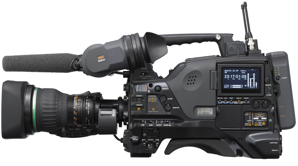 High Def  XDcam Disc Camera