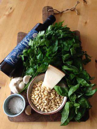 Pestó – grænt og gott