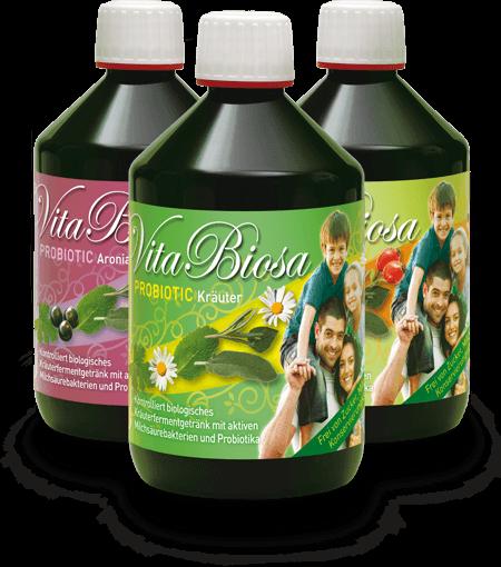 Vita Biosa bætir meltinguna og er án sykurs, mjólkurafurða og glúteins