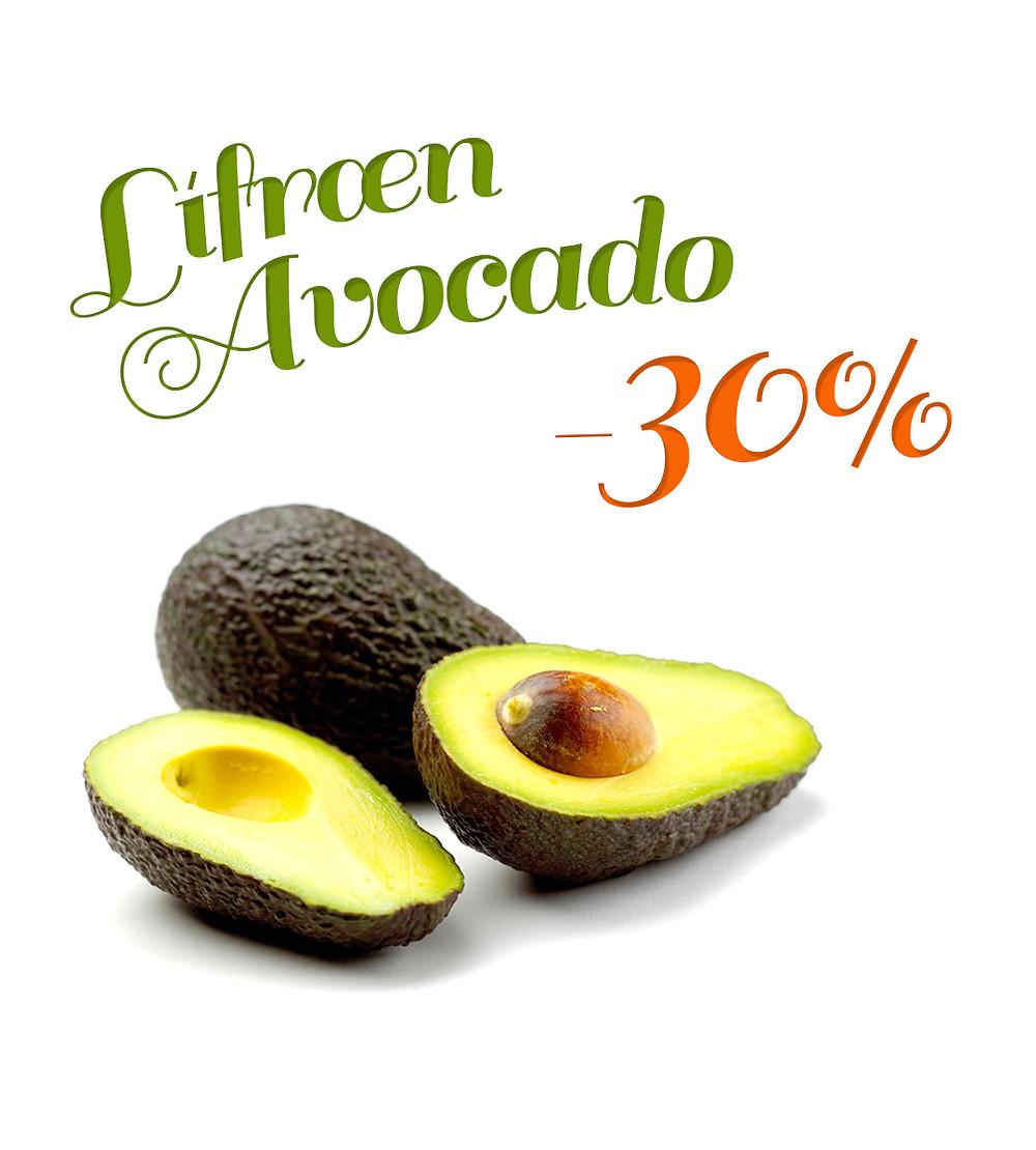 Lífræn Avocado