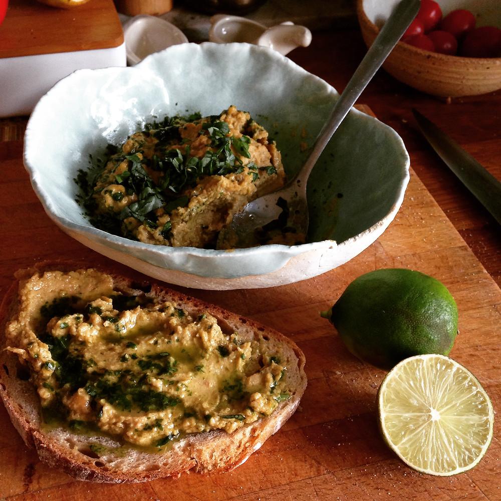 Hummus gott eitt og sér, á brauð eða með mat