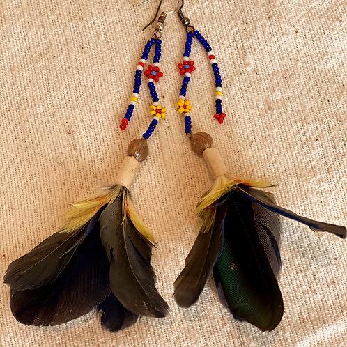 Sapara Feather Earrings #2