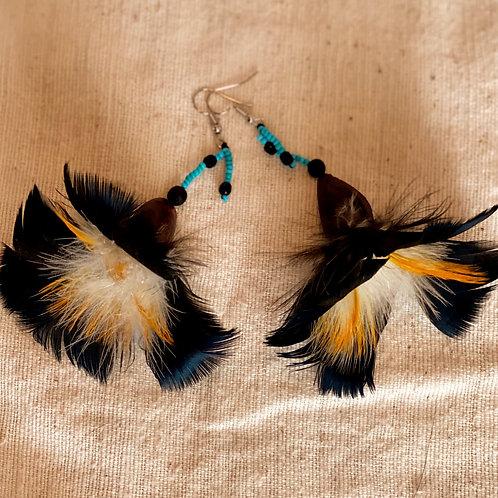 Sapara Feather Earrings #11