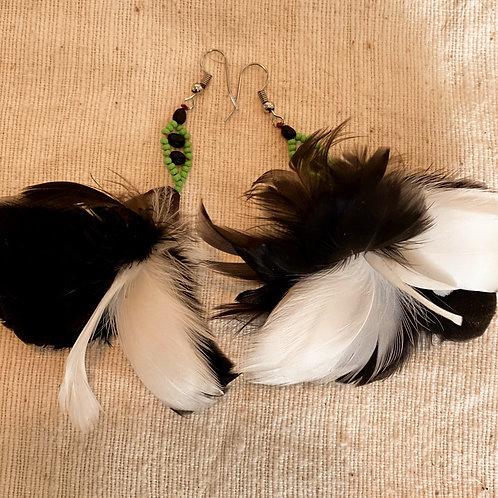 Sapara Feather Earrings #3