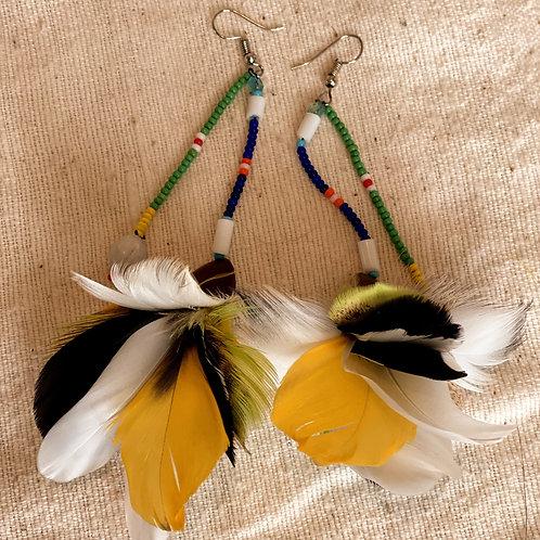 Sapara Feather Earrings #8